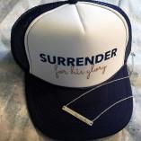 Surrender Birth Trucker Hat, Surrender Birth, Pregnancy, Christian Mamas, Christian motherhood