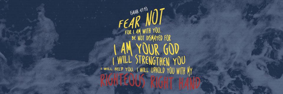 Verse of the Week: Isaiah 41:10