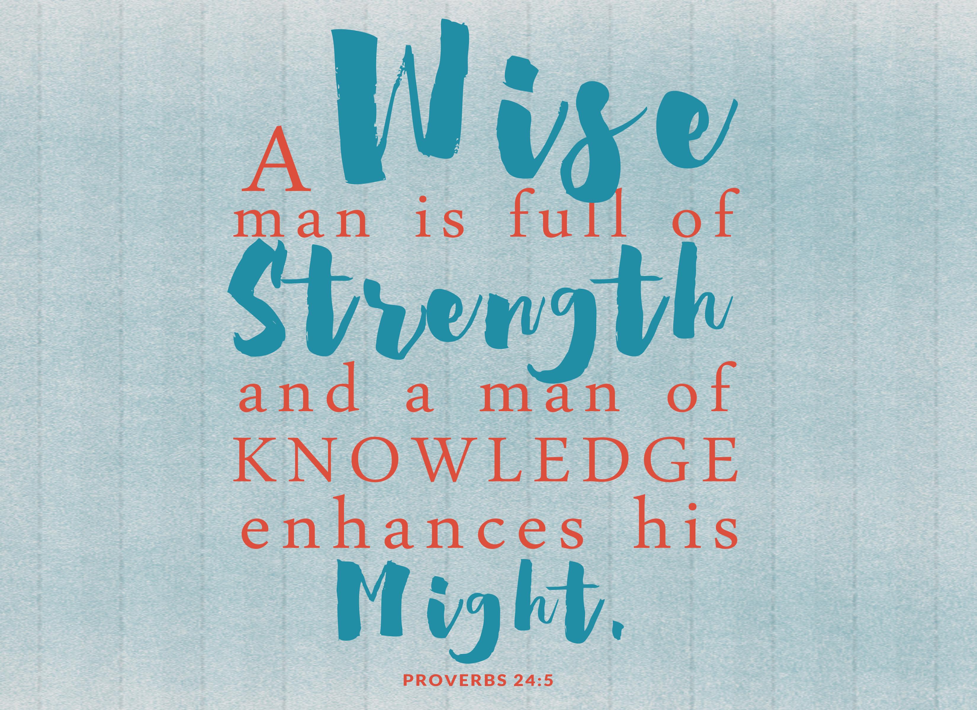 Knowledge VOW Printable