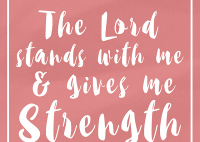 Strength Affirmation Biblical Strength