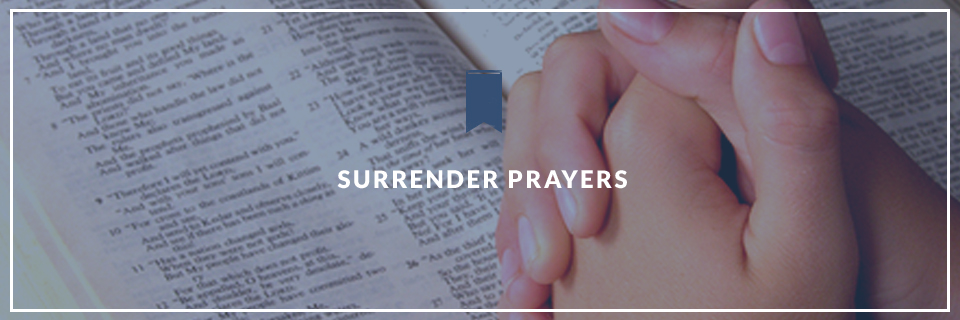Surrender Prayers