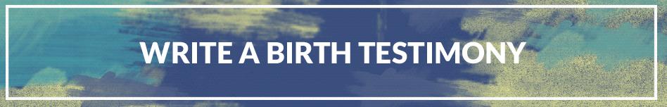 Christian Childbirth Testimony